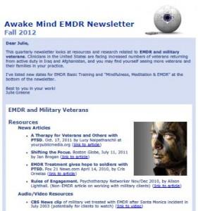 EMDR Newsletter Picture